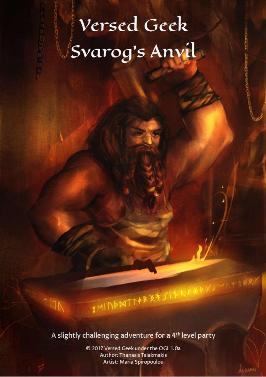 Cover of Svarog's Anvil (5e)