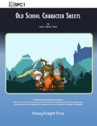 SPC1 Old School Character Sheets