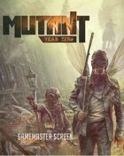 MUTANT: Year Zero Gamesmaster Screen - PDF