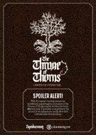 Symbaroum - The Throne of Thorns