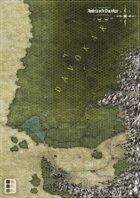 Symbaroum - Davokar & Symbar Hexagonkarta