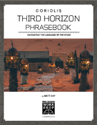 Coriolis: Third Horizon Phrasebook