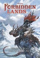 Forbidden Lands - The Bitter Reach Map & Cards Pack