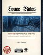 Symbaroum House Rules