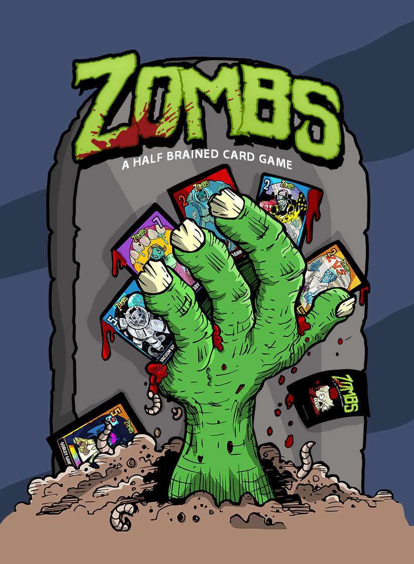 Zombs: A Half-Brained Card Game - SG Games | DriveThruCards.com