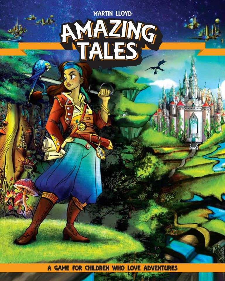 Amazing Tales, complete kids' RPG