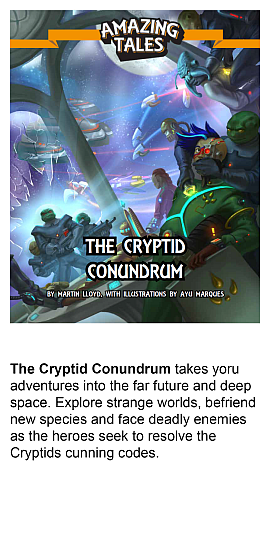 The Cryptid Conundrum, an Amazing Tales campaign