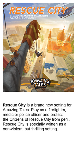 Rescue City, An Amazing Tales Setting