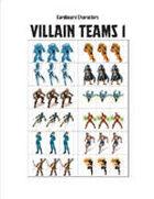Cardboard Characters - Villain Teams 1