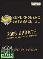 UNTIL Superpowers Database II - PDF