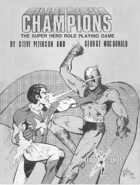 Champions: The Super Hero Role Playing Game (1st Edition)