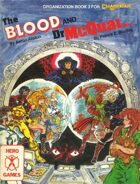 The Blood and Dr. McQuark (3rd Edition)