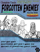 Forgotten Enemies #6 - Viper Special Issue - Solo Villains