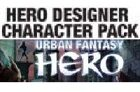 Urban Fantasy Hero Character Pack [characters for Hero Deisgner software]
