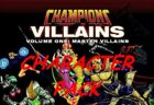 Champions Master Villains Character Pack