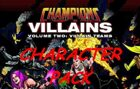 Champions Villain Teams Character Pack