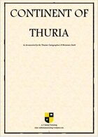 Thurian Cartographers & Historians Guild: Continent of Thuria