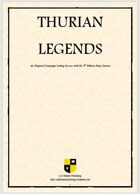 Thurian Legends Core Setting Guide (non-illustrated)