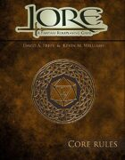 Lore: Core Rules