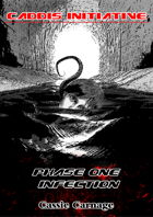 Phase One Infection: Caddis Initiative (tentacle body horror medical thriller) Series