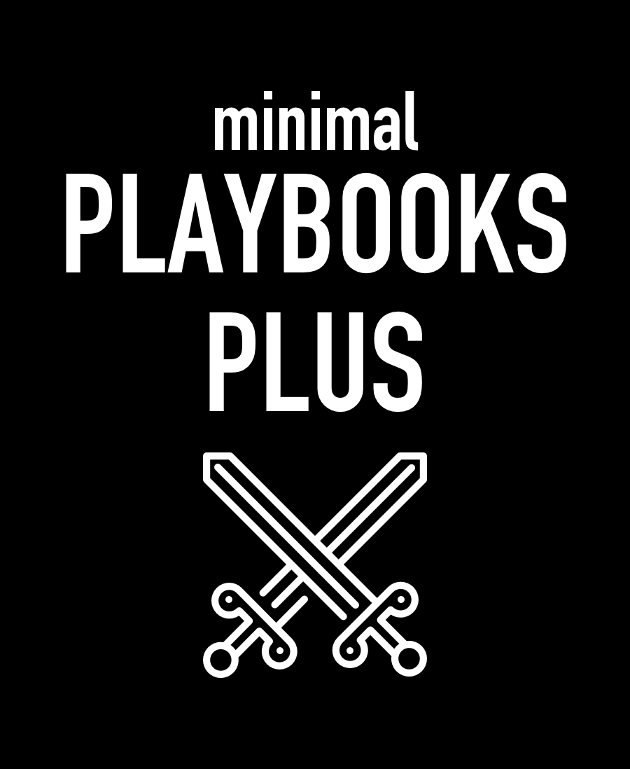 Minimal Playbooks Plus - Dungeon World - Sentinel Sheets