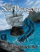 Sea Dragon (Fantasy Stock Art)