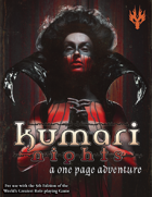 Kumari Nights: A One Page Adventure for 5th Edition