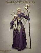 Fantasy Classes Series 1 - Warlock (F)