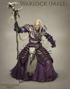 Fantasy Classes Series 1 - Warlock (M)