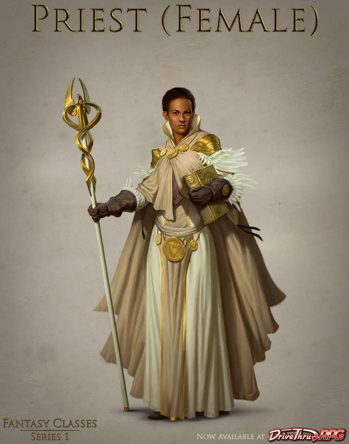 Fantasy Classes Series 1 - Priest (F)