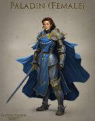Fantasy Classes Series 1 - Paladin (F)