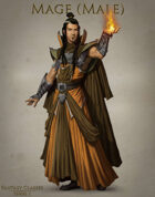 Fantasy Classes Series 1 - Mage (M)