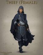 Fantasy Classes Series 1 - Thief (F)