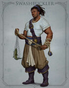 Fantasy Classes Series 2 - Swashbuckler (M)