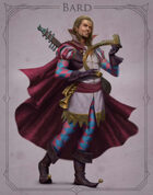 Fantasy Classes Series 2 - Bard (M)