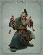 Fantasy Classes Series 2 - Monk (M)