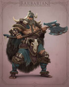 Fantasy Classes Series 2 - Barbarian (M)