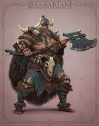 Fantasy Classes Series 2 - Barbarian (M)
