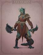 Fantasy Classes Series 2 - Barbarian (F)