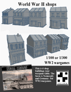 World War 2 Shops