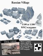 Russian WW2 Village