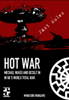 HOT WAR - mechas, nukes and occult in in 50´s world total war - Fast Rules