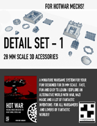 HOT WAR - Mech Detail Set 1