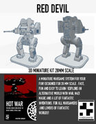Red Devil - English Mech for Hotwar