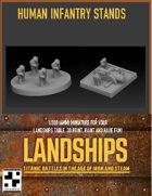 Human Infantry Stands for Landships