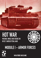 Hotwar - Module I - Armor Rules