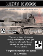 Iron Cross - WW2 6mm Wargame System