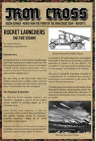 Rocket Launchers for Iron Cross
