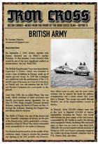 British Army for Iron Cross