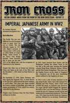 Japanese Army for Iron Cross